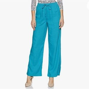 Bebe linen pants size S in teal